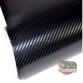 3D Black gloss carbon fibre vinyl