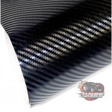 3D HQ Black gloss carbon fibre vinyl