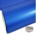 4D Blue gloss carbon fibre vinyl