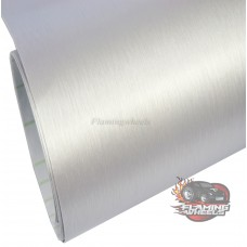 Brushed aluminum silver