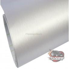 Brushed aluminum silver