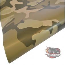 Camouflage desert vinyl