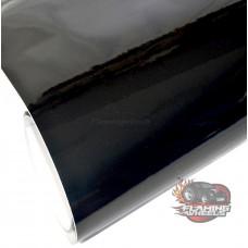 Black gloss vinyl
