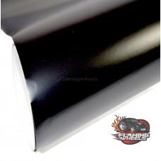 Satin black matt vinyl
